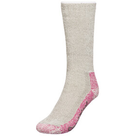 Smartwool Mountaineering Extra Heavy Crew Socks Women Taupe/Bright Pink